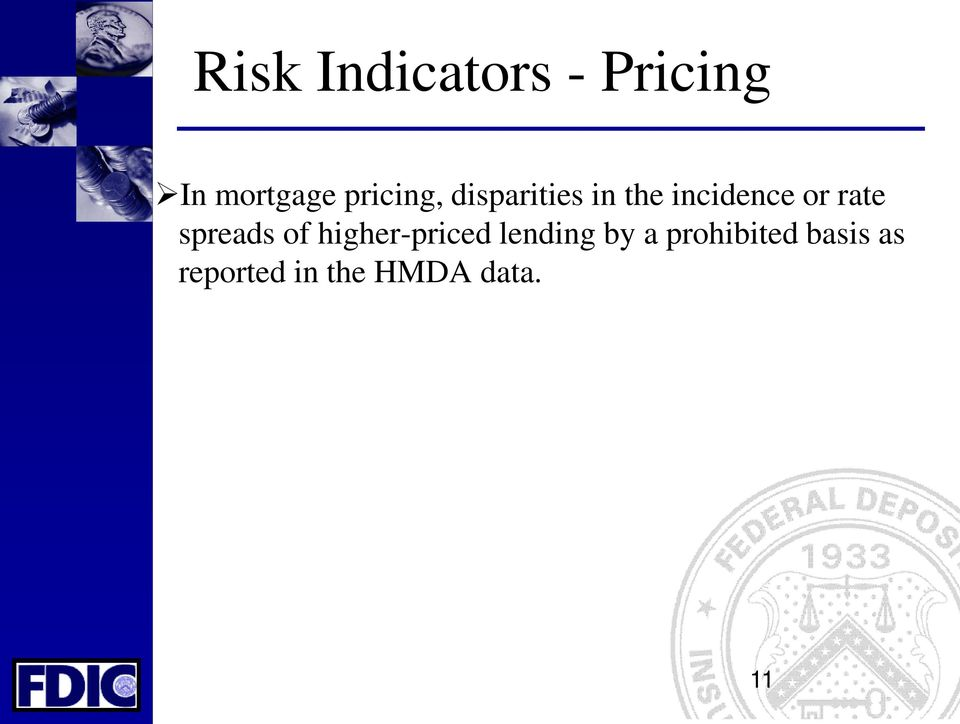 rate spreads of higher-priced lending by a