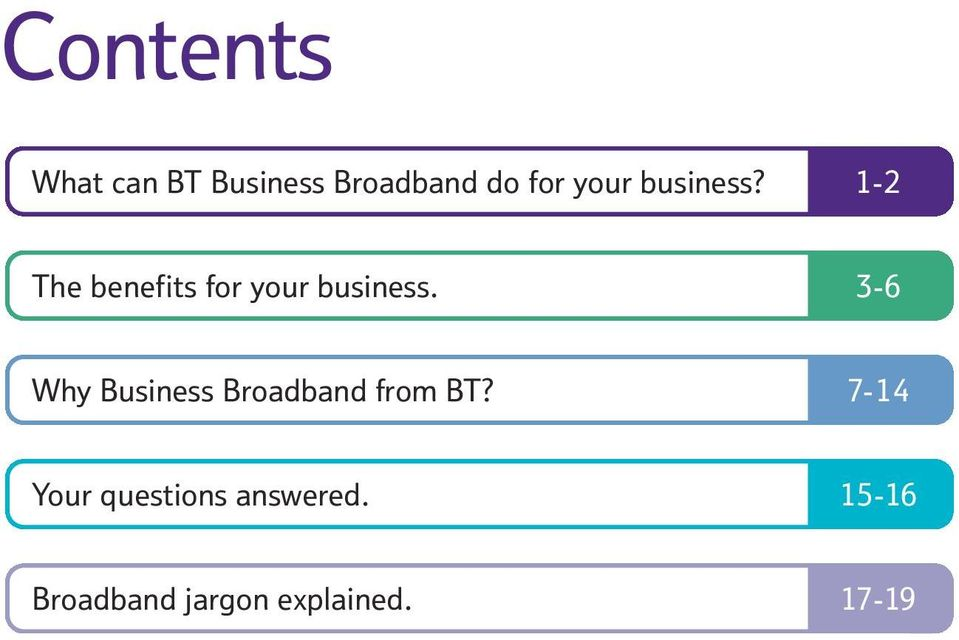 3-6 Why Business Broadband from BT?