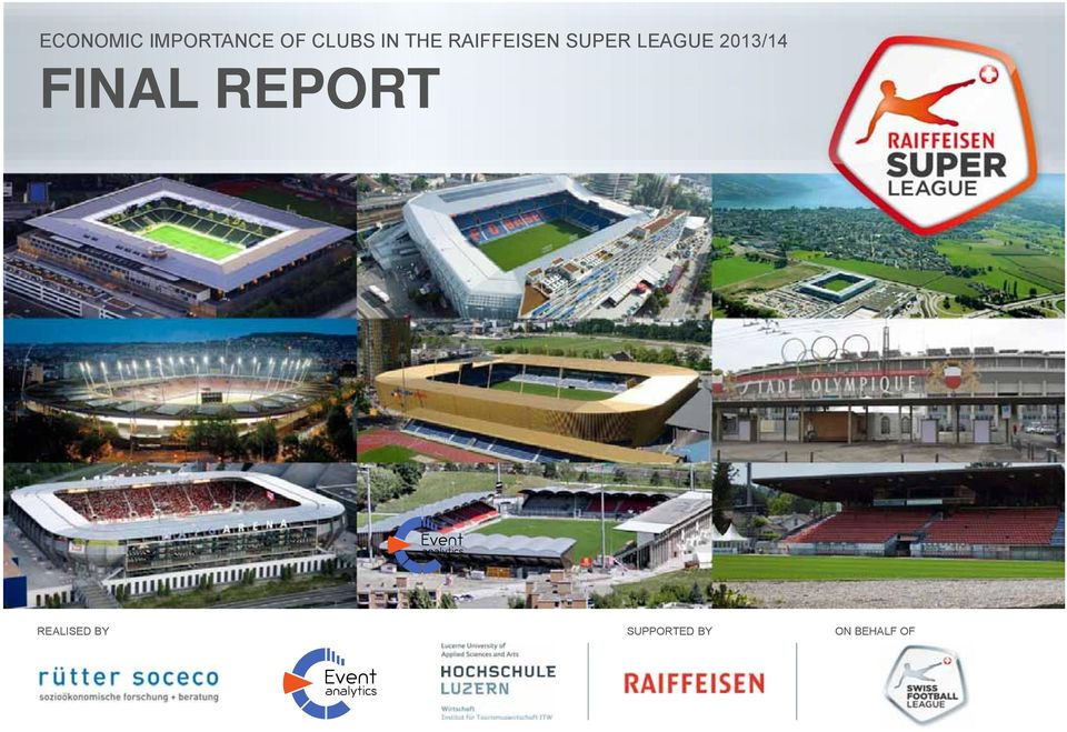 LEAGUE 2013/14 FINAL REPORT
