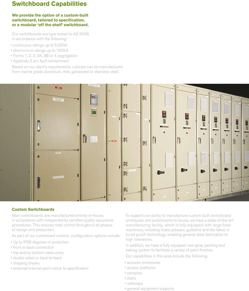 Switch Onto Mayfield Mayfield Capability Profile Design Manufacturing Installation And Commissioning Of Switchroom And Switchboard Solutions Pdf Free Download