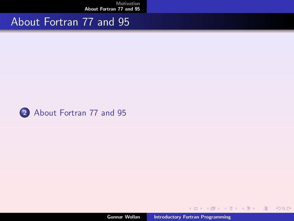 Introductory Fortran Programming - PDF