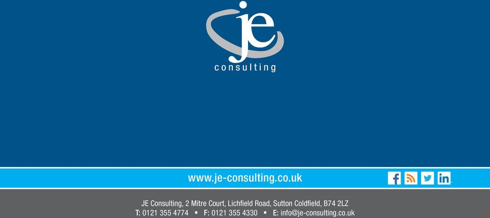 uk JE Consulting, 2 Mitre Court,