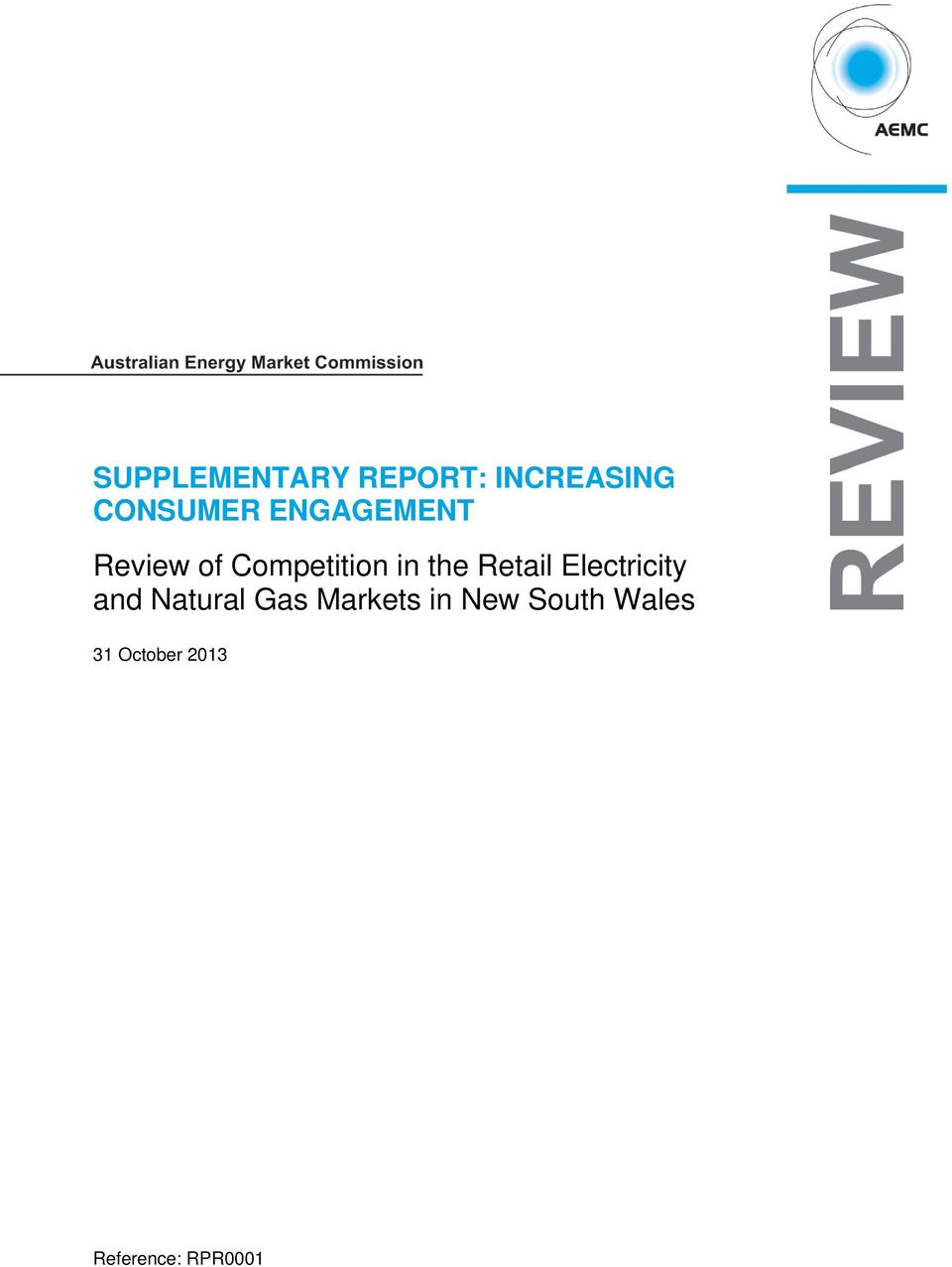 Retail Electricity and Natural Gas Markets
