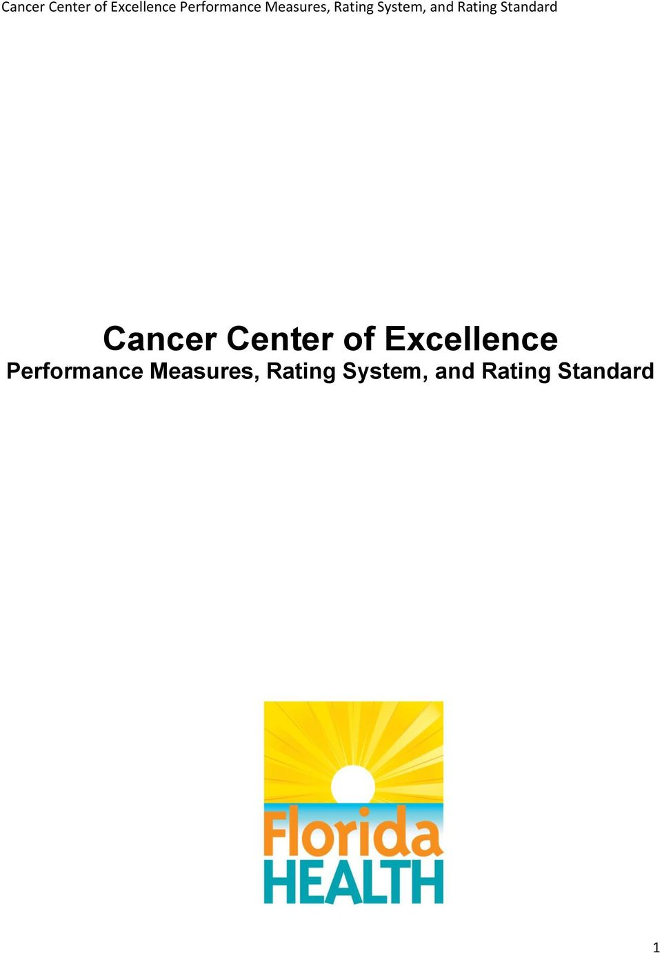 Performance Measures,