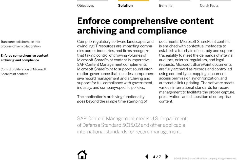 Microsoft SharePoint content is imperative.