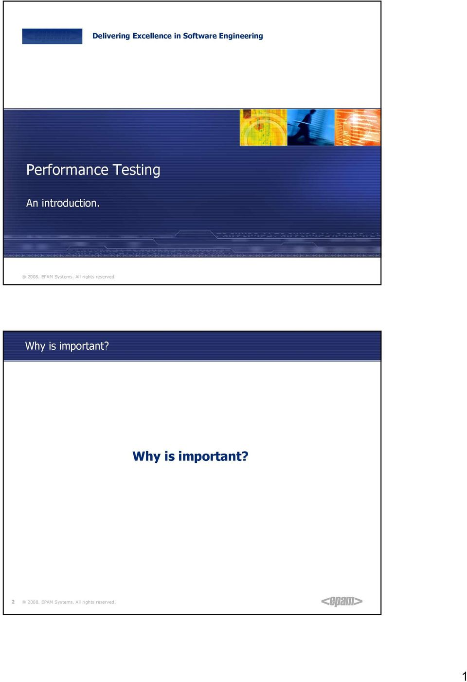 Performance Testing An
