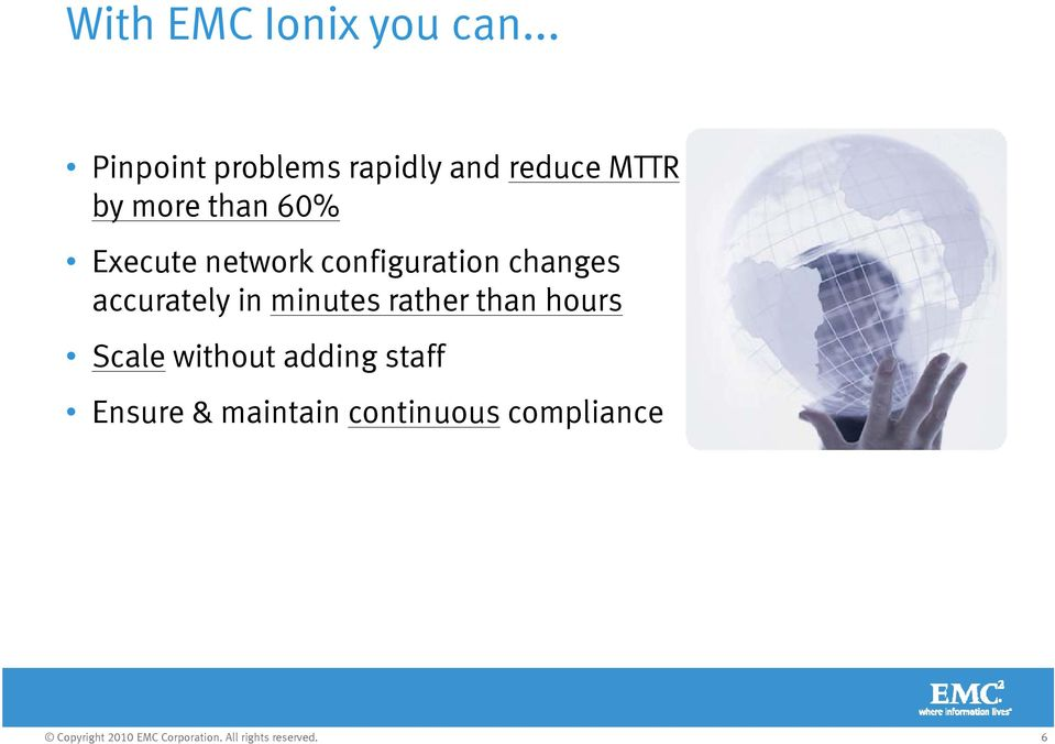 60% Execute network configuration changes accurately in