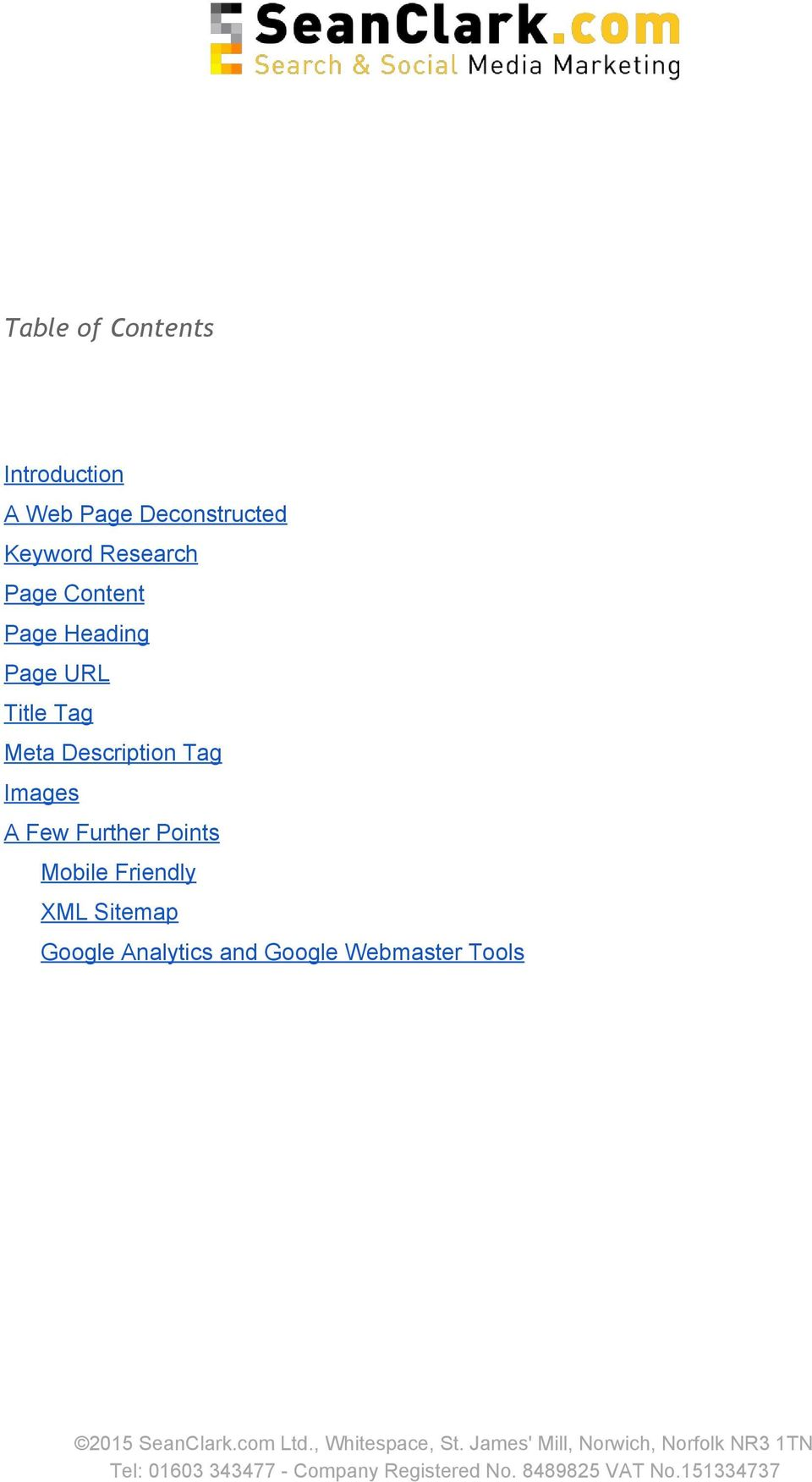Tag Meta Description Tag Images A Few Further Points Mobile