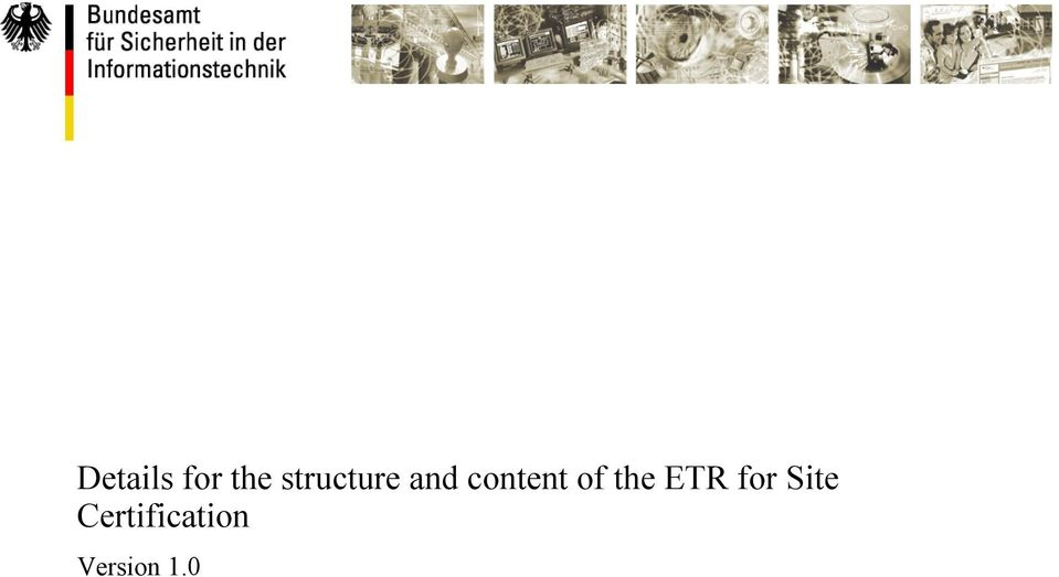 content of the ETR