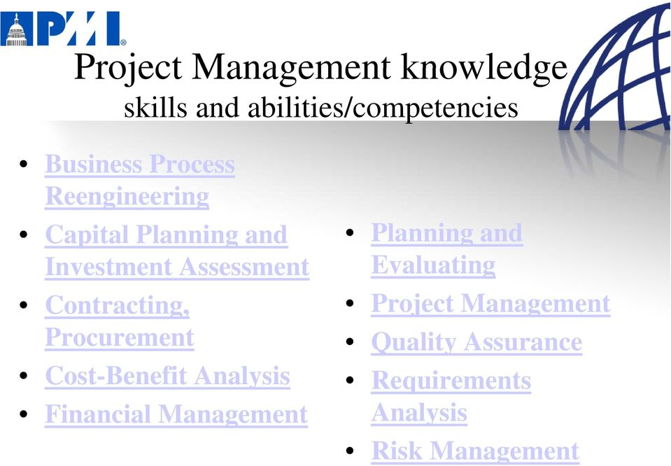 Contracting, Procurement Cost-Benefit Analysis Financial Management