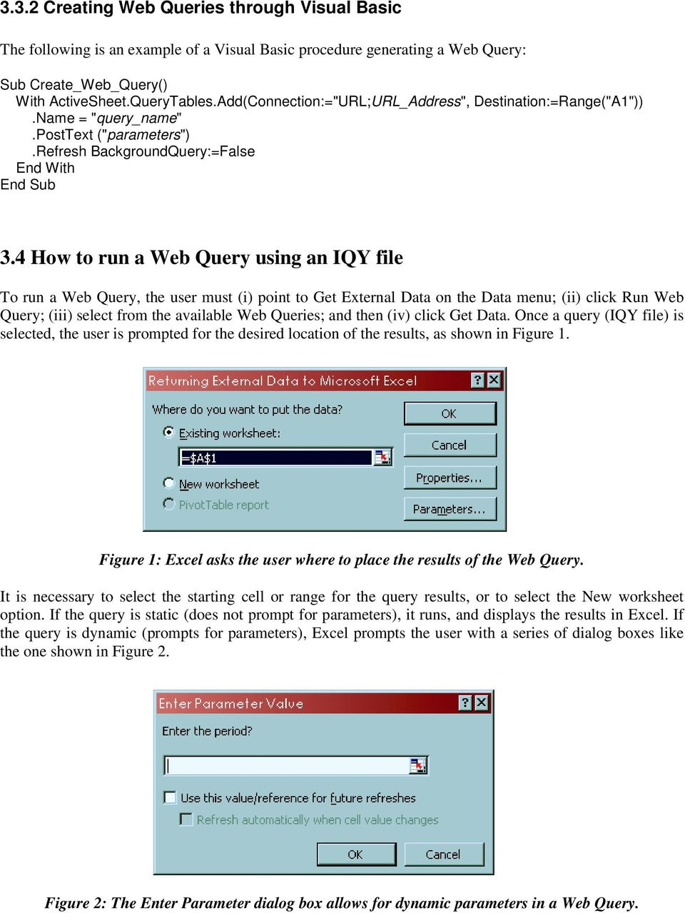 Data Collection on the World Wide Web using Excel 1 - PDF