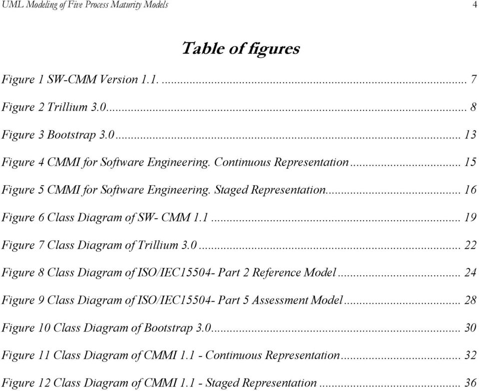 0... 22 Figure 8 Class Diagram of ISO/IEC15504- Part 2 Reference Model... 24 Figure 9 Class Diagram of ISO/IEC15504- Part 5 Assessment Model.