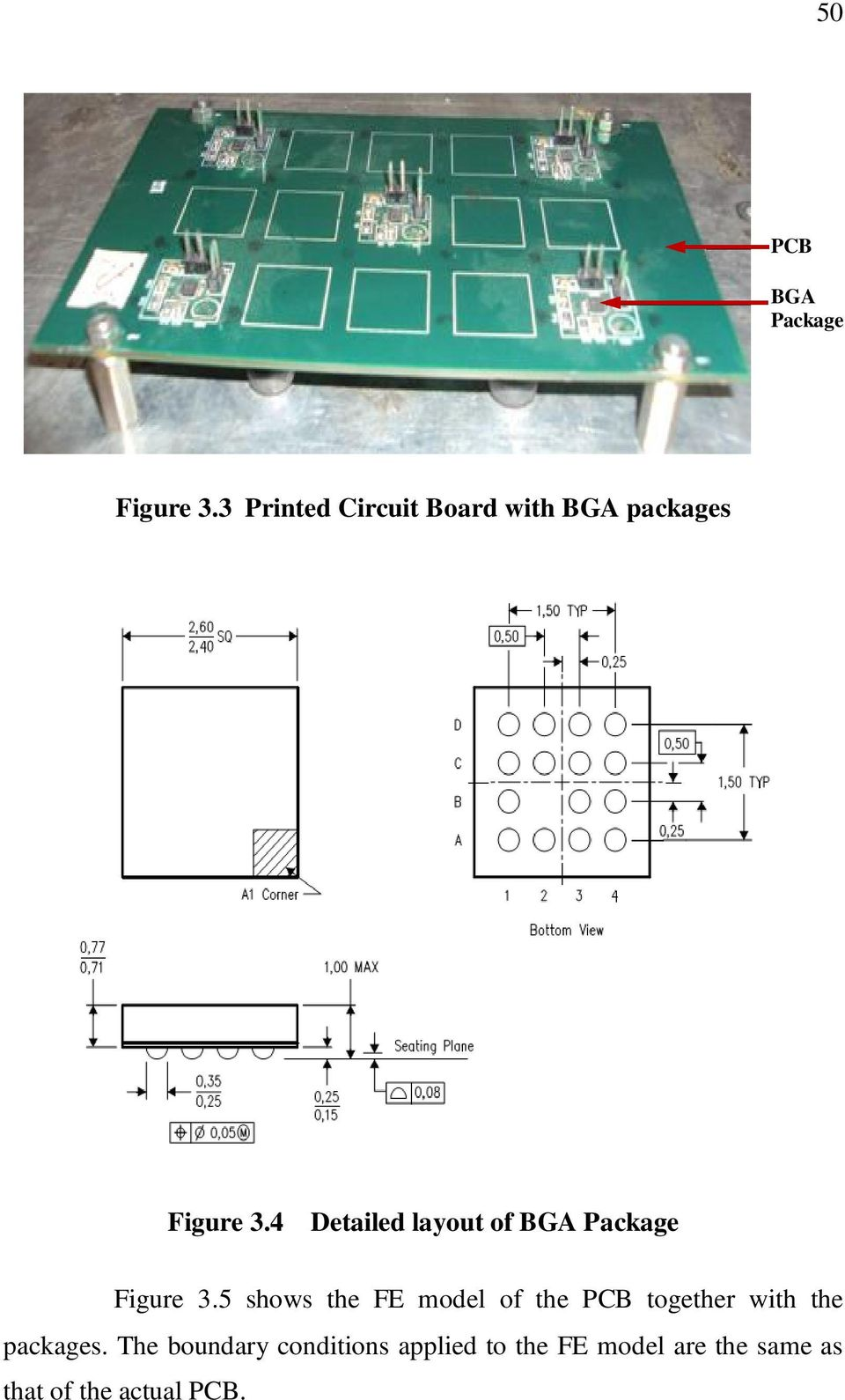 4 Detailed layout of BGA Package Figure 3.