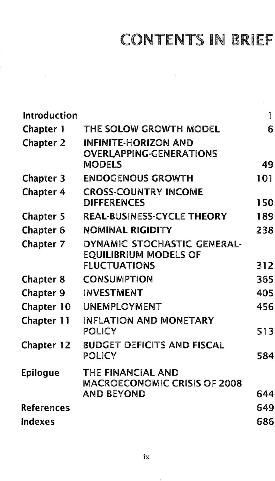 REAL-BUSINESS-CYCLE THEORY NOMBNAL RBG1DBTY DYNAMDC STOCHASTIC GENERAL- EQU1LIBRBUM MODELS OF FLUCTUATIONS CONSUMPTION INVESTMENT UNEMPLOYMENT INFLATION
