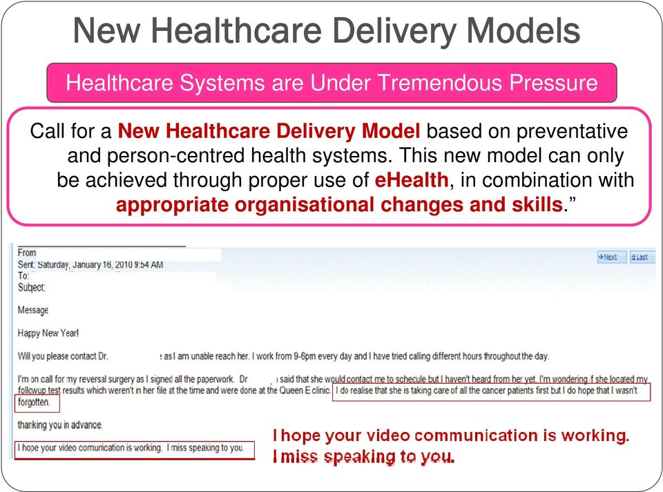 person-centred health systems.
