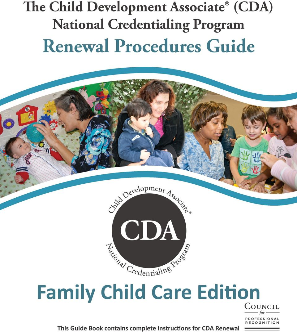 Procedures Guide Family Child Care Edition