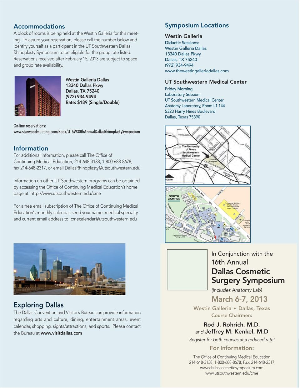 Dallas Rhinoplasty Symposium - PDF