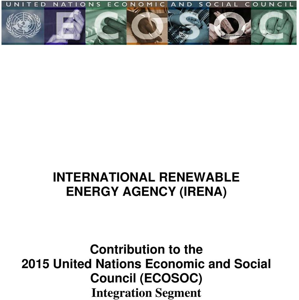 2015 United Nations Economic and