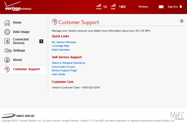 Customer Support The Customer Support page contains the following sections: Quick Links (See Quick Links on page 86.) Self-Serve Support (See Self-Serve Support on page 87.