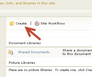 10. How To Create A New Document, Wiki, or Picture Library 1.