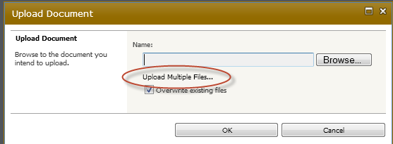 4. How To Upload A File 1. Sign In Log in by clicking Sign In at top right. 2. Navigate INTO the folder where you want to place your new files by clicking the name of the folder.