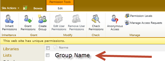 5. How To Add/Remove Users To/From A Site 1. Sign In Sign into SharePoint by clicking Sign In at top right: 2.