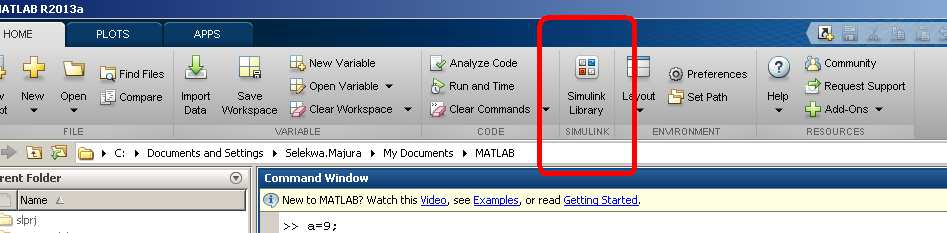 MATLAB Simulink Simulink is MATLAB s graphical programming interface.