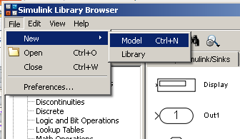 Simulink graphical icons are collected in what are known as Libraries.