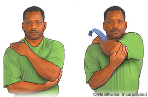 Rotator Cuff: Exercises Here are some examples of typical rehabilitation exercises for your condition. Start each exercise slowly. Ease off the exercise if you start to have pain.