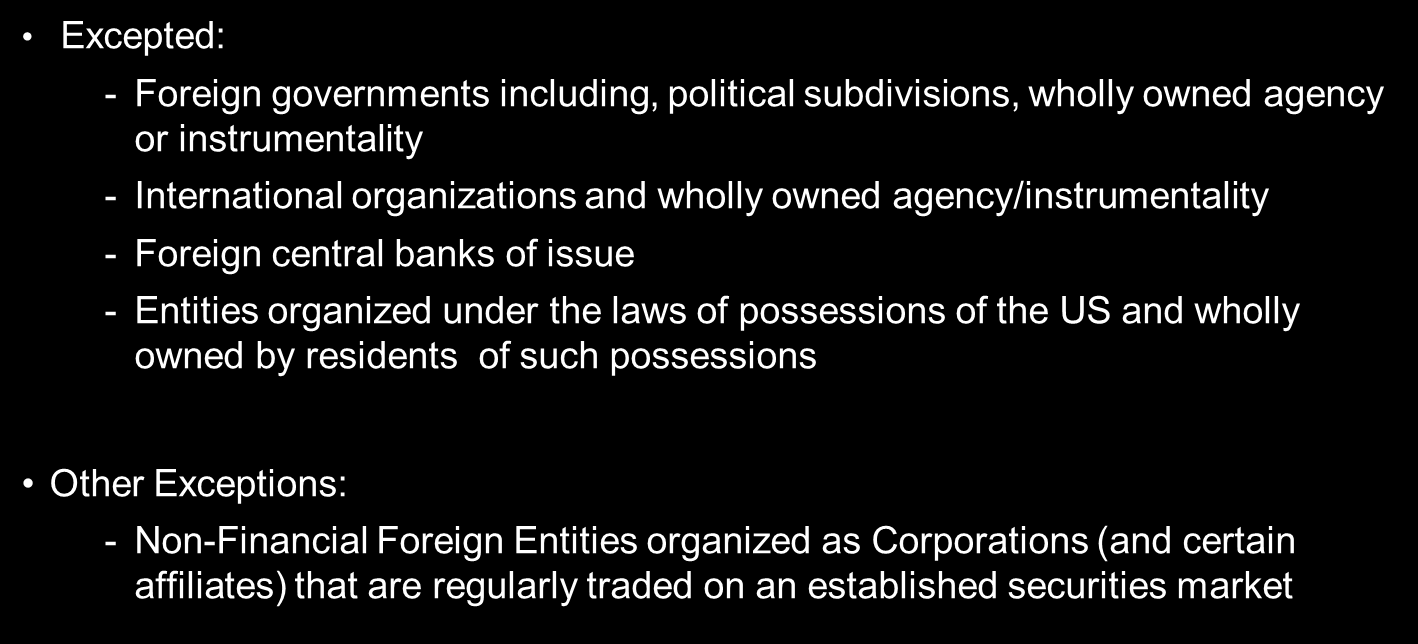 New Fatca Information Reporting And Withholding For Non Us