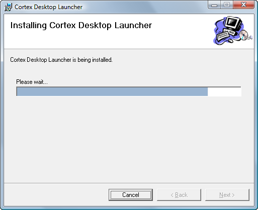 Cortex Desktop Installation NOTE Clicking the Disk Cost button will show you whether you have enough space to install Cortex Desktop.