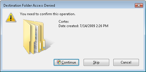 Uninstalling Previous Cortex Desktop Versions 4 Click Yes to uninstall Cortex Desktop. Prior to uninstalling, the User Access Control window is displayed.