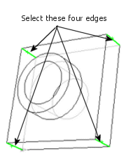3. Under Hidden edges displayed as, select Solid. This option makes it easier to see hidden lines when you use the Hidden Lines Visible view. 4.