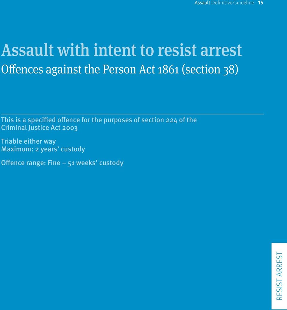 offence for the purposes of section 224 of the Criminal Justice Act 2003