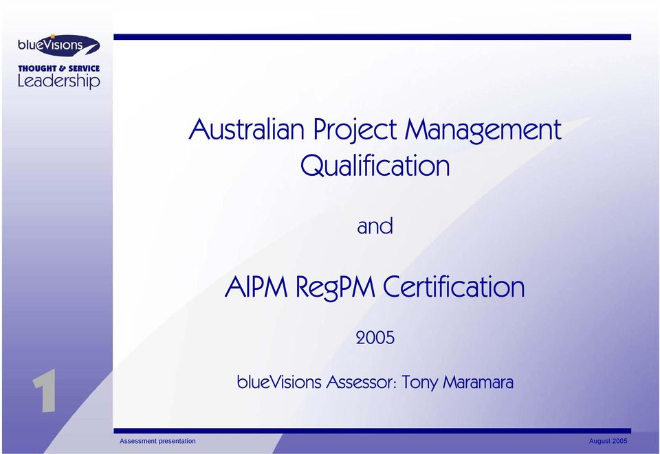 AIPM RegPM Certification