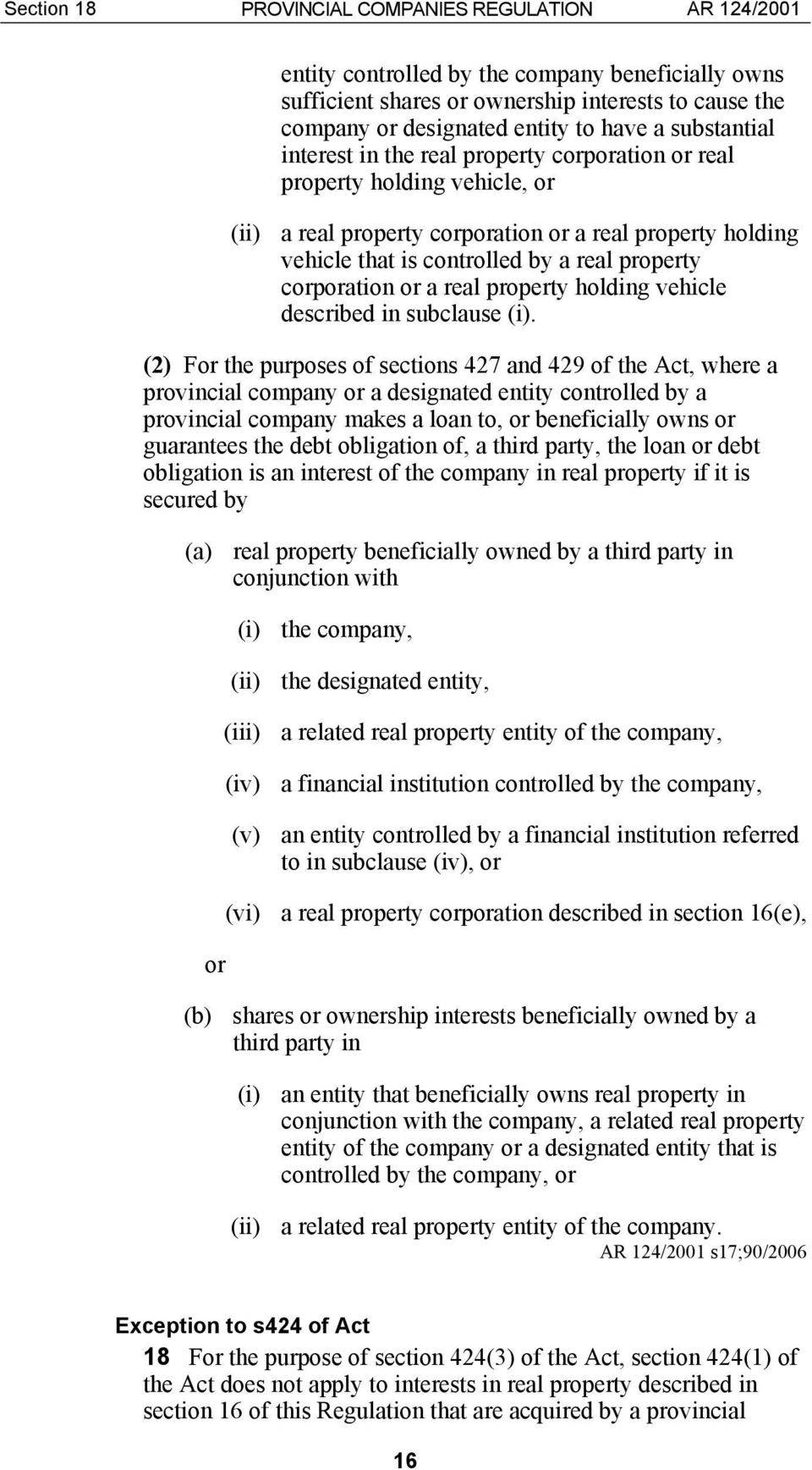 corporation or a real property holding vehicle described in subclause (i).