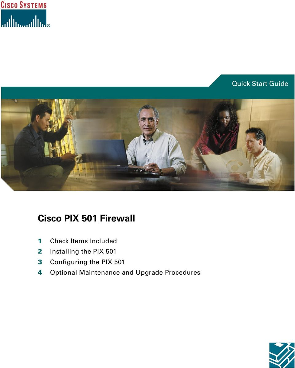 Installing the PIX 501 3 Configuring