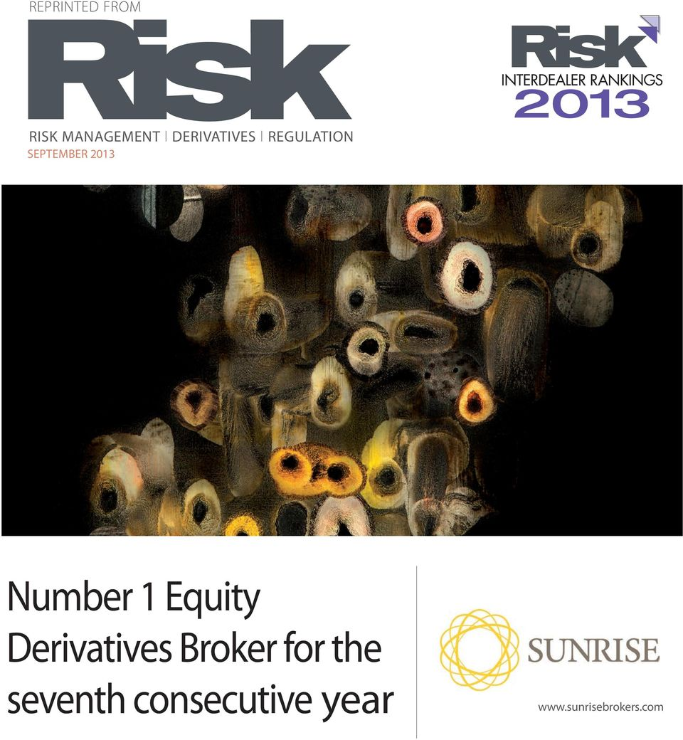 Number 1 Equity Derivatives Broker for