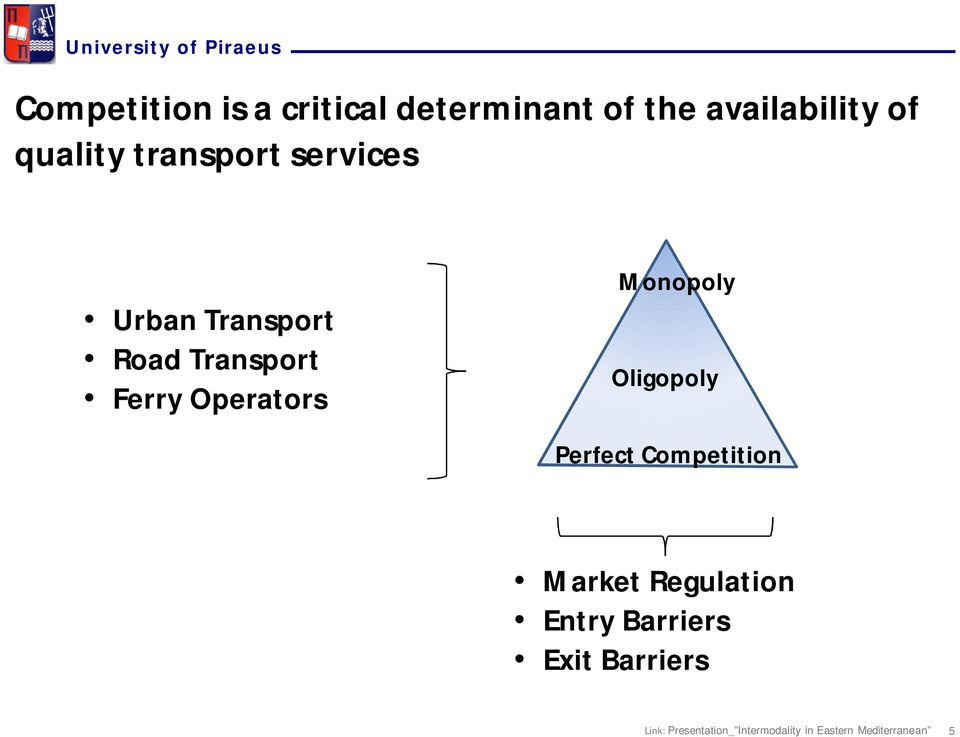 Transport Road Transport Ferry Operators Monopoly
