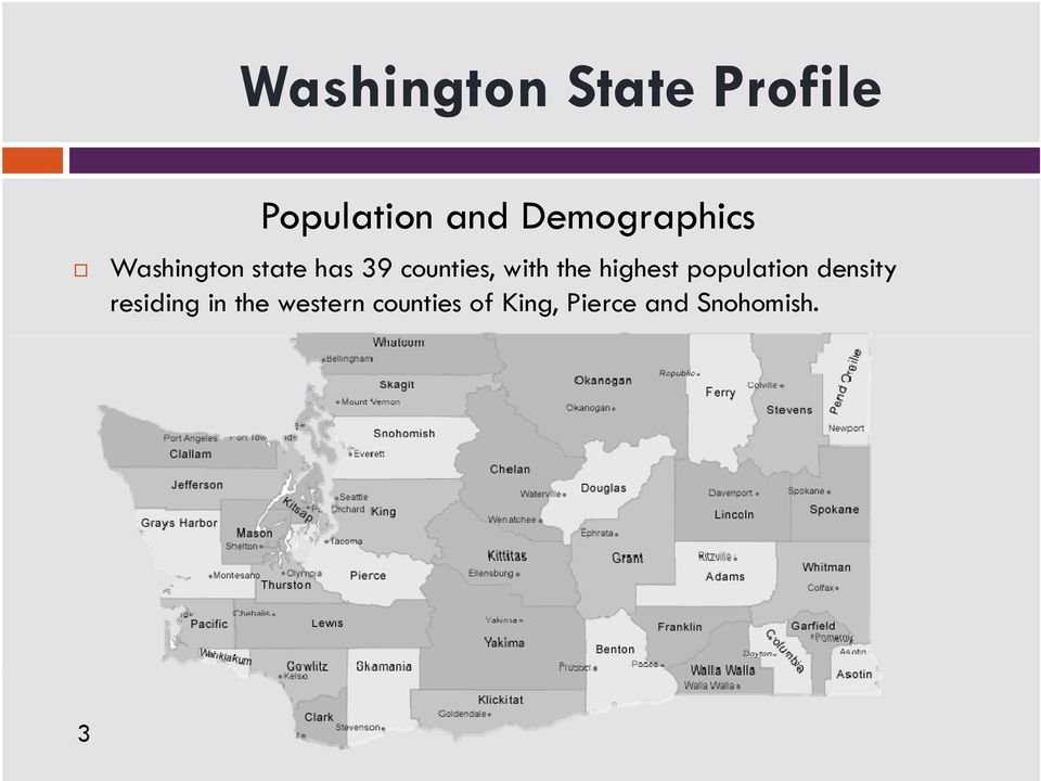 with the highest population density residing