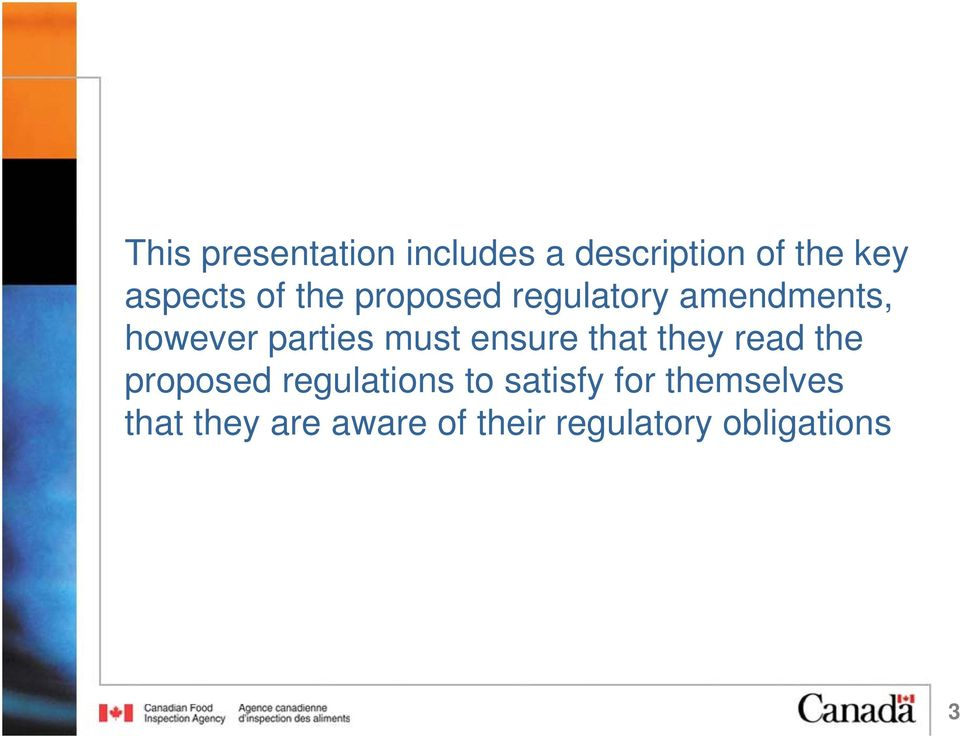 ensure that they read the proposed regulations to satisfy for