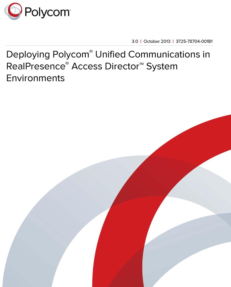 Polycom Unified Communications in