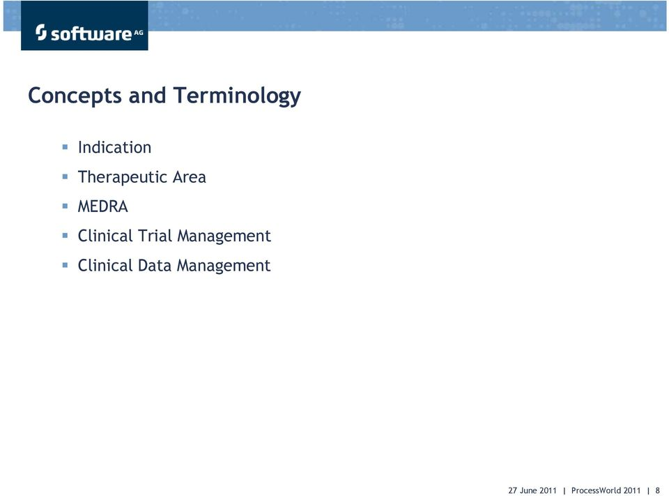 Trial Management Clinical Data