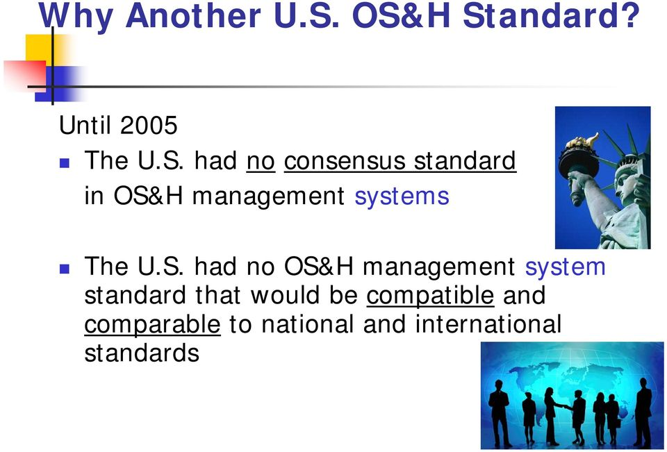 standard in OS&