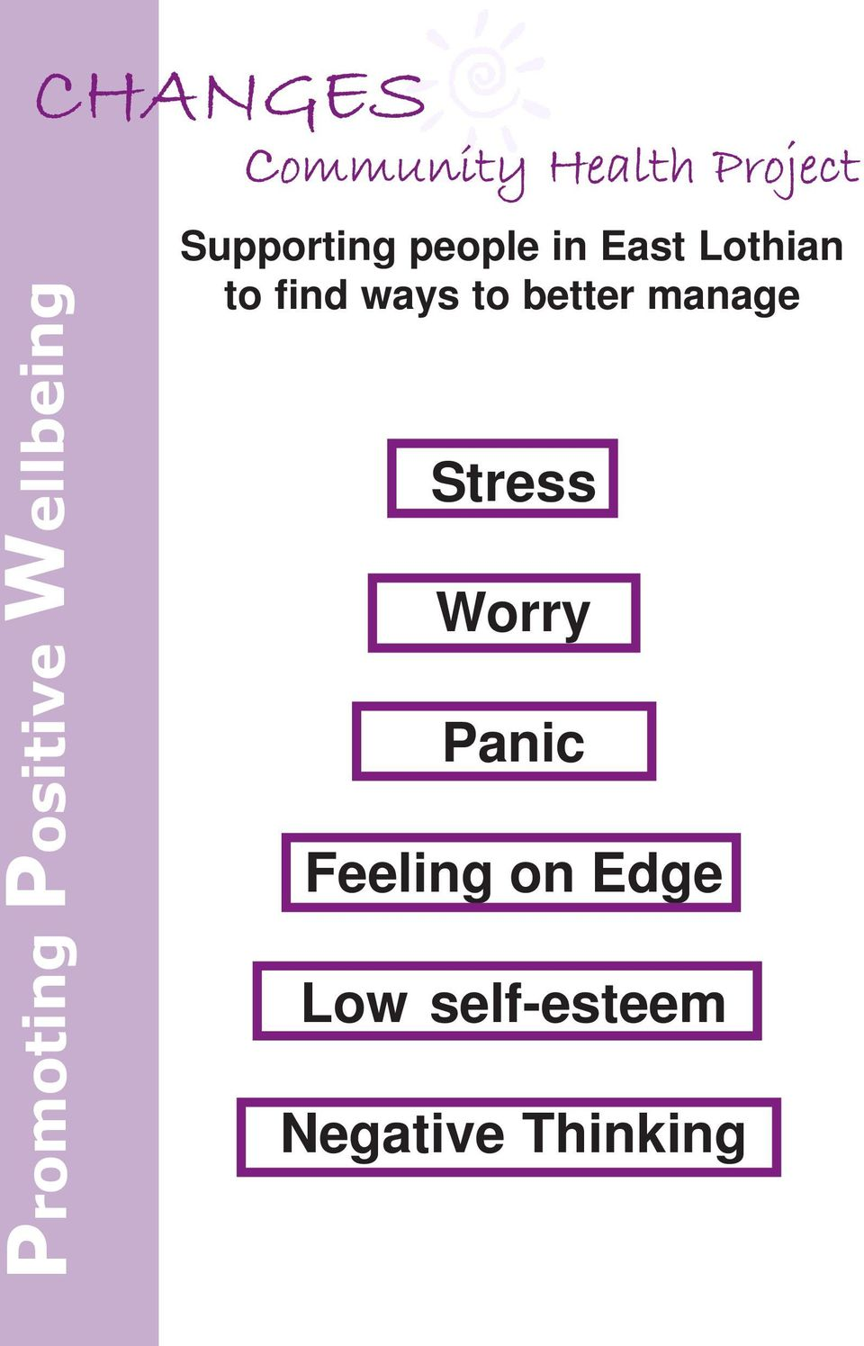 manage Promoting Positive Wellbeing Stress Worry