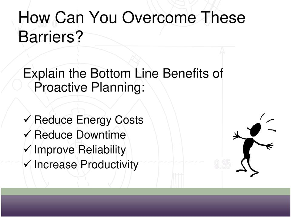 Proactive Planning: Reduce Energy Costs