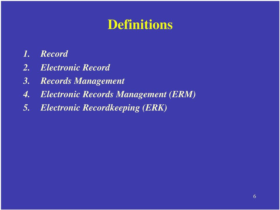 Records Management 4.