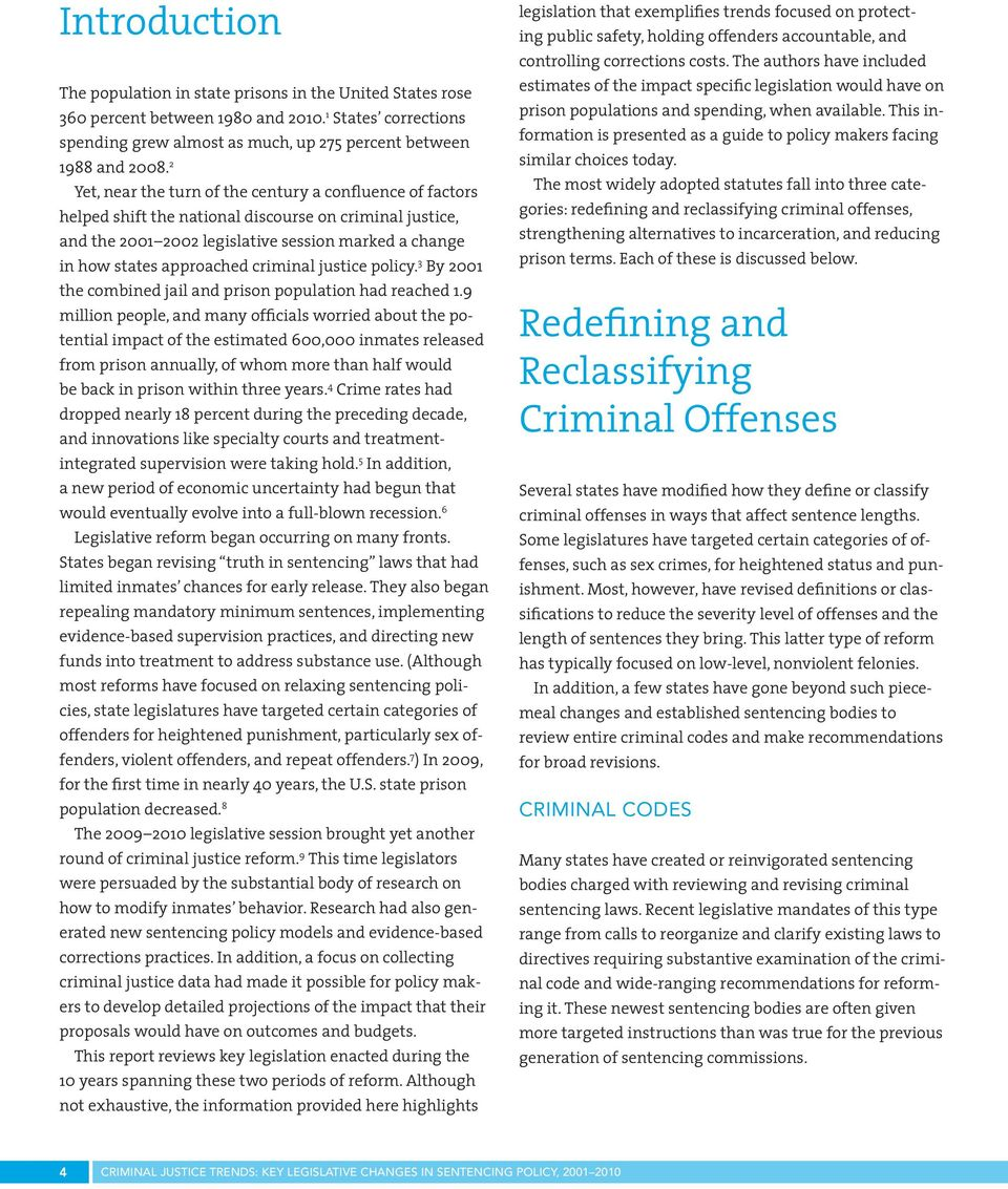 trends in criminal justice View modern trends in criminal justice education research papers on academiaedu for free.