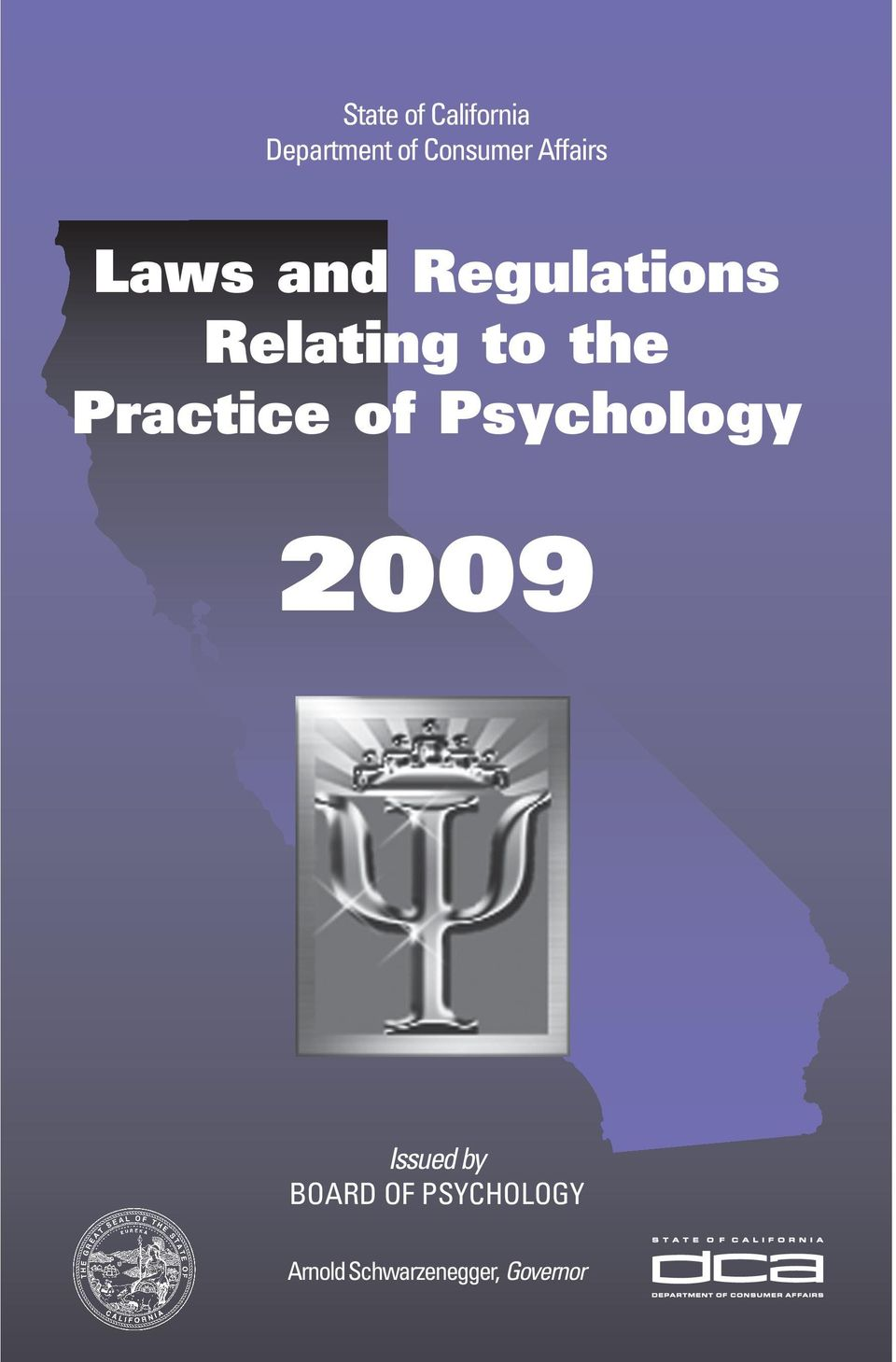 the Practice of Psychology 2009 Issued by