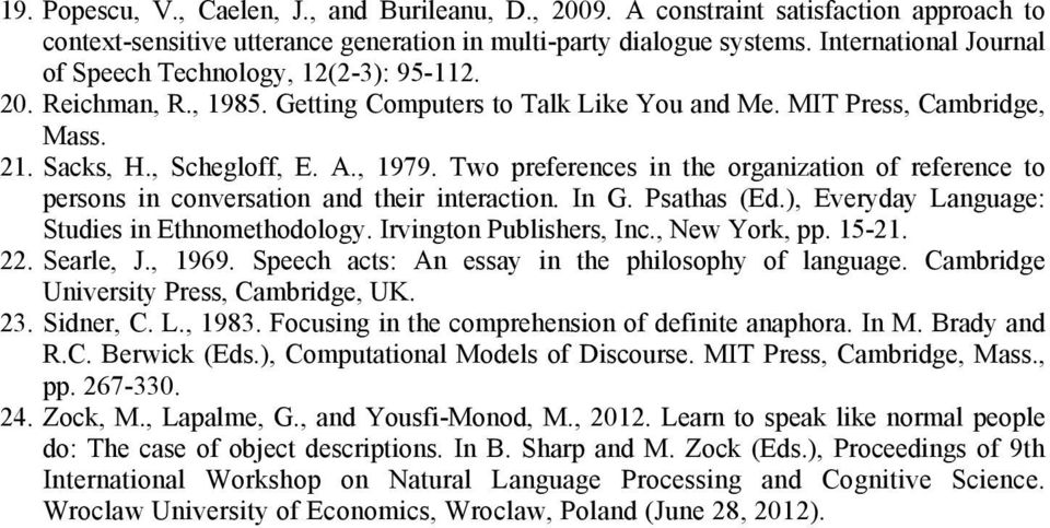 speech acts an essay in the philosophy of language pdf